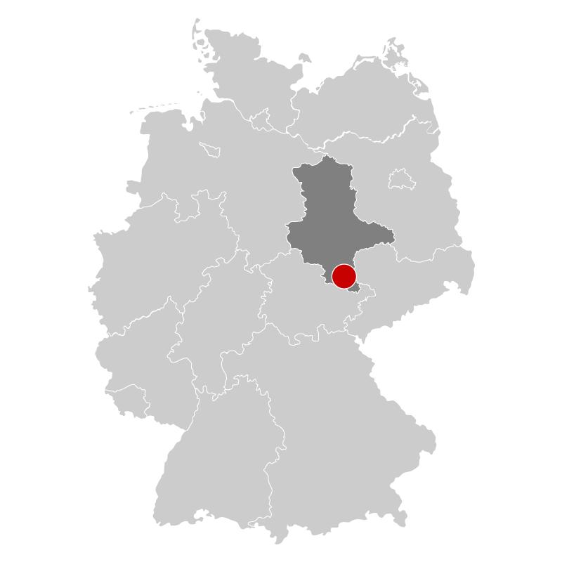 Halle Saale Karte.Radfahren In Halle Saale Unstrut Radkompass De